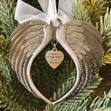 Angel Wings Bell Ornament 🎄 Christmas Tree Pendant 🎄
