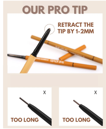 3 Sec  Eyebrow Pencil - Buy 1 Get 1 Free
