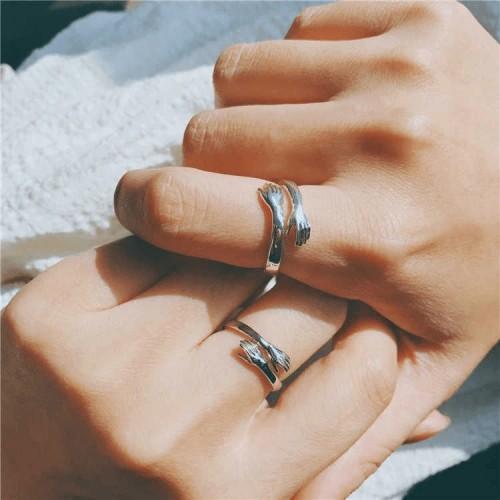 Adjustable Size Hug Ring