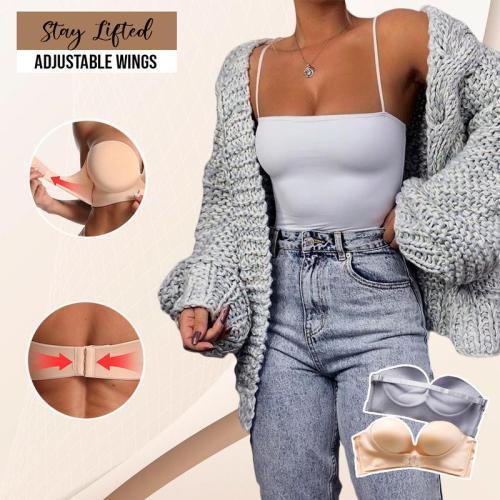 Front Buckle Strapless Adjustable bra