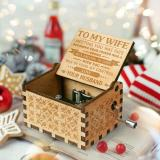 Engraved Music Box - To My Wife
