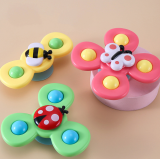 3PCS Sucker Spin Toy