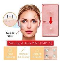 Skin Tag & Acne Patch ( 24 PCS )