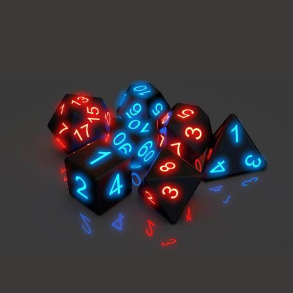 Awesome Board Game Glowing Dice(7 PCS)