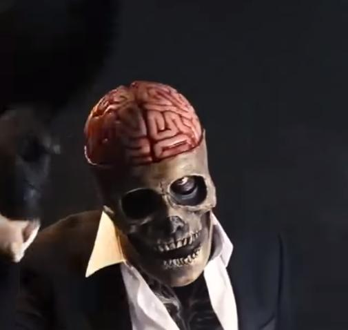 The latest skeleton biochemical mask for 2021