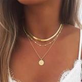 Radiate Sunshine Multilayer Necklace