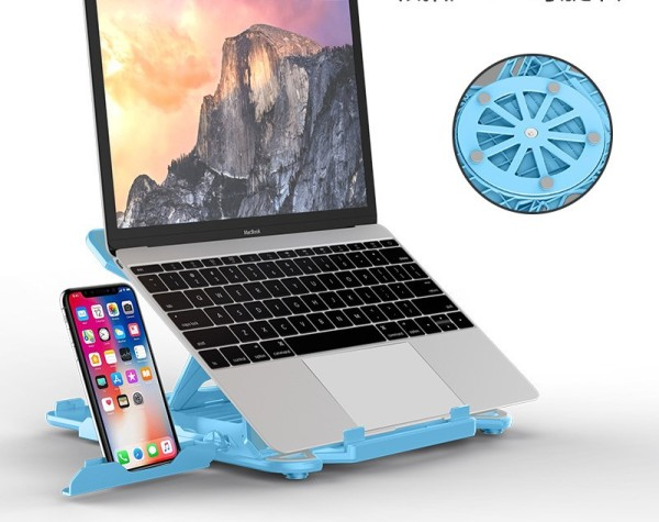 Foldable Laptop Stand & Phone Holder
