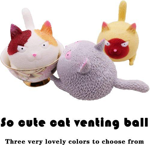🎅(Early Xmas Sale ) Funny Cute Cat-Shaped Ball