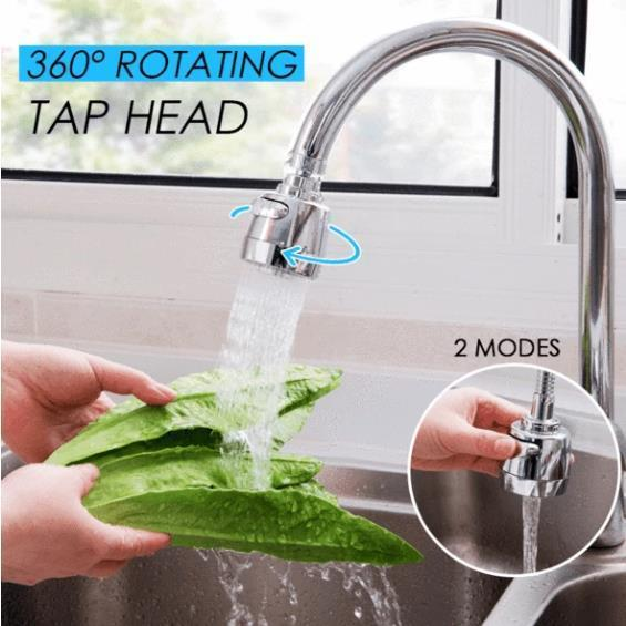 Stainless Steel Rotate Tap Head