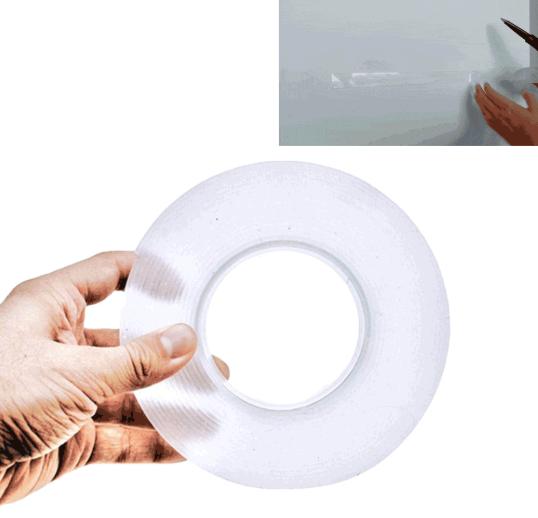 Tape Magic Waterproof Tape 1/5 Meters Repeat Use Multifunction Seamless Tape Heat Resistant Tape