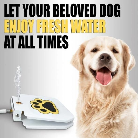 Outdoor Dog Pet Water Fountain