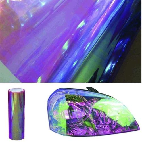 Chameleon High Gloss Headlight Foglight Wrap Tint