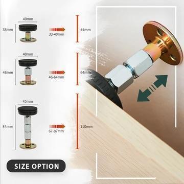 Adjustable Threaded Bed Frame Anti-shake Tool