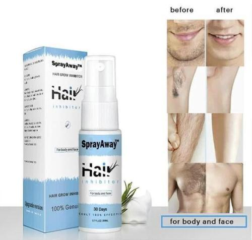 Hair Removal Spray - effectively and painlessly remove unwanted hairs