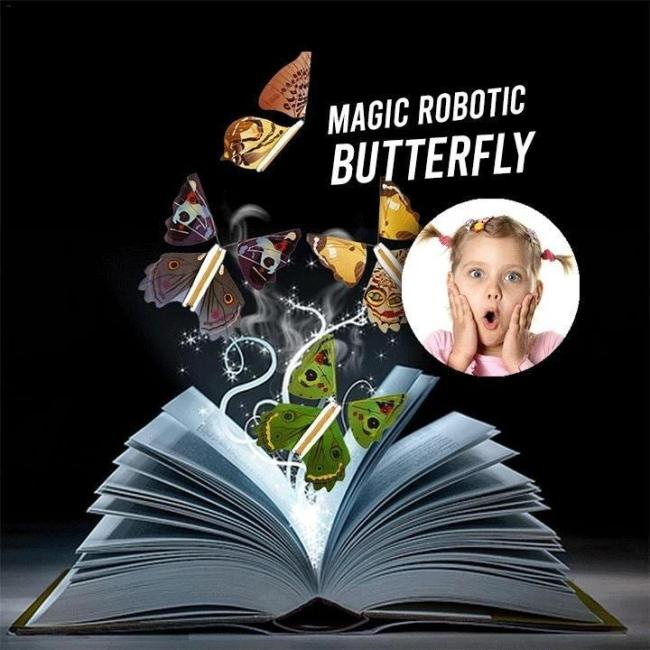 The Magic Butterfly-Slip into your  birthday card, wedding card, or book