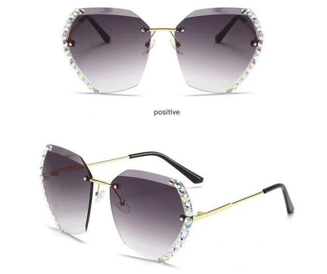 Fashion Crystal Sunglasses