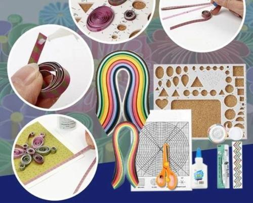 DIY Paper Craft Quill Art Kit