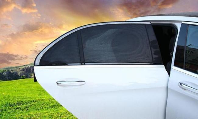 Universal Slip On Window Shades - These window shades block out80% UV rays