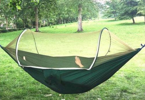 LockMesh + Camping Netted Hammock (Maximum Load 200kg!!)