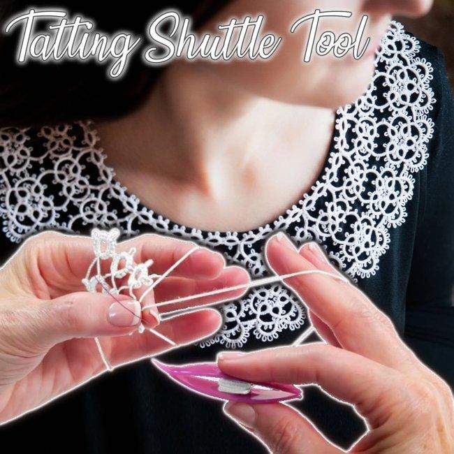 Tatting Shuttle Tool (2Pcs)