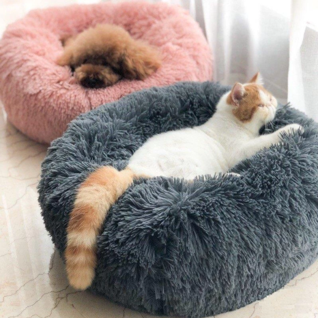 Super Soft Calming Bed  For Dog & Cat