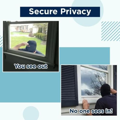 1-way Vision Blinds-can block harmful UV rays and reduce glare
