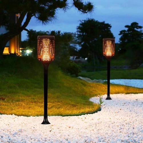 Solar Lawn Light Flame Torch Light Outdoor Garden Decoration Light