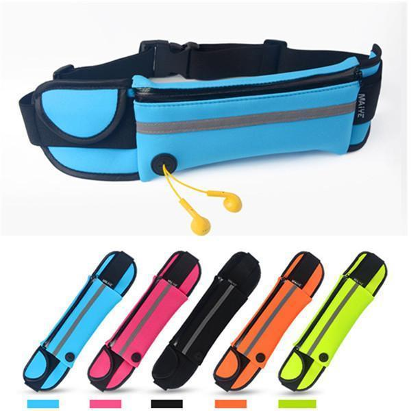 Waterproof Running Waist Belt Bag