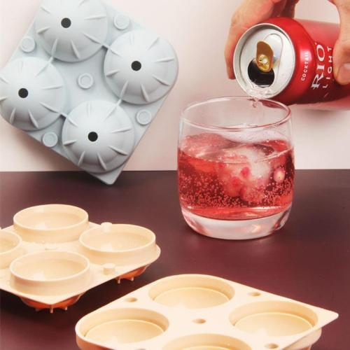 Round Shape Silicone Ice Ball Mold - Non-toxic, harmless, odor-free