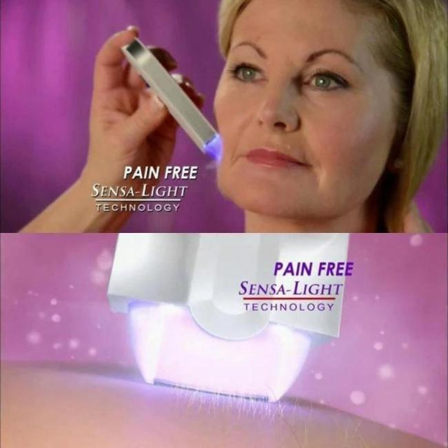 Painless Hair Removal Kit - No more nicks, cuts or bumps