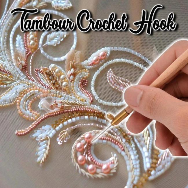 TAMBOUR CROCHET HOOK-is suitable for any embroidery lovers or even beginners
