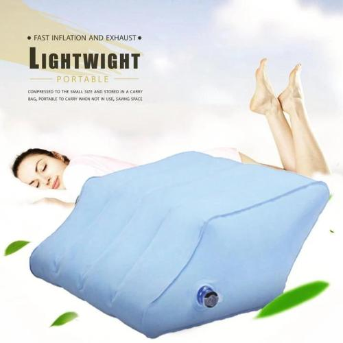 Inflatable Leg Lift Pillow-elevate legs for a safer, deeper, and more restful sleep
