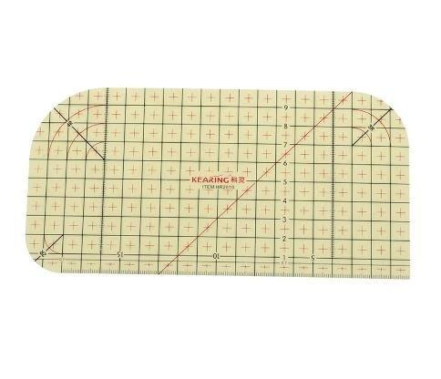 Hot Ironing Ruler - Unique non-slip surface holds fabric in place for precise results