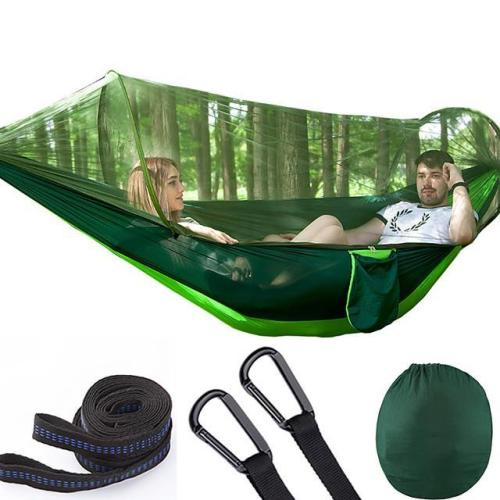 LockMesh + Camping Netted Hammock (Maximum Load 200kg!!)