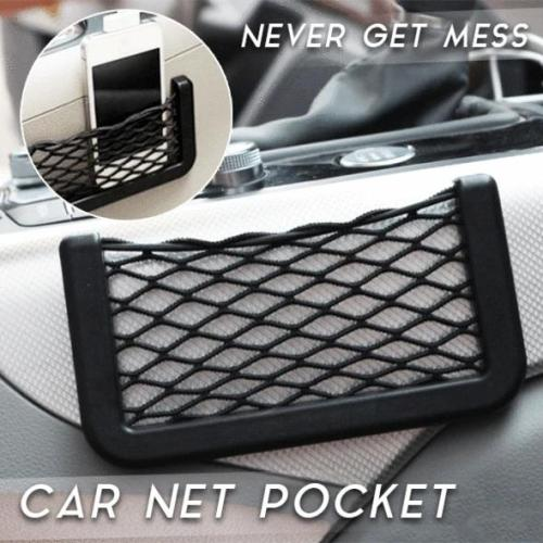 Car Net Pocket-available to stick on different parts in car