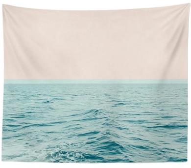 Beautiful Sea Ocean Wall Tapestry