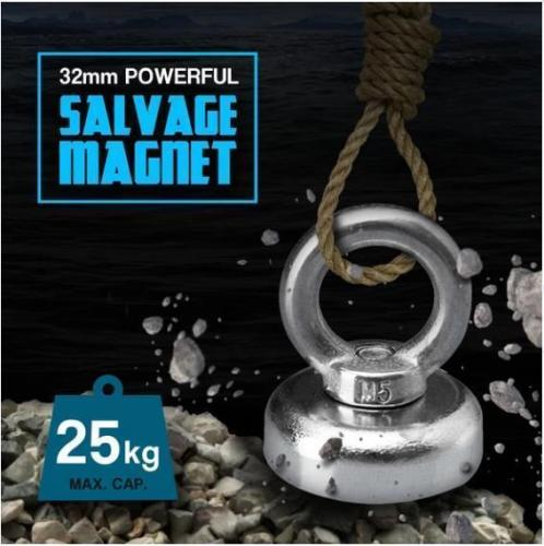 Strong Salvage Fishing Neodymium Magnet-It is able tocarry all kinds of heavy tasks