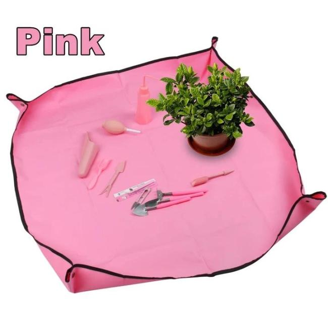 Gardening Transplanting Pot Pad - Prevent water and soil spilling to the floor, good material that can be wiped