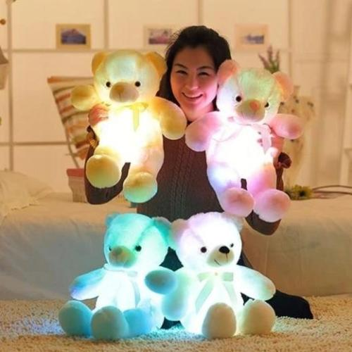 Colorful Glowing Bear