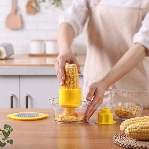Corn Thresher-Quickly Peel Corn
