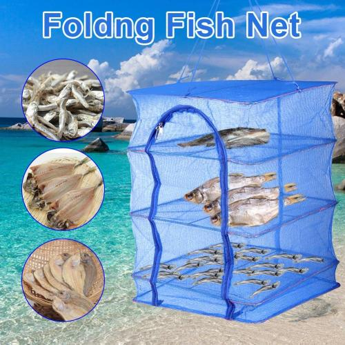 Foldable Three-layer Square Fishnet