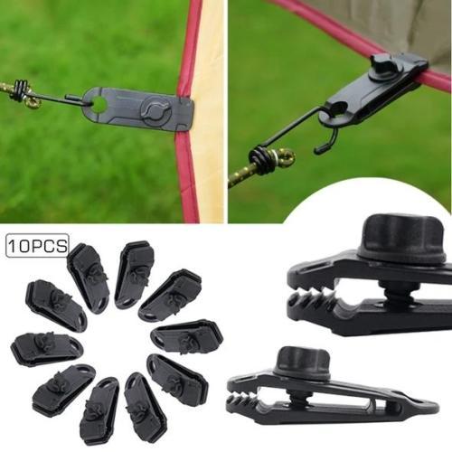 Reusable heavy duty linoleum clip