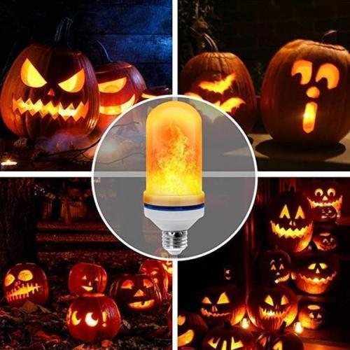 LED Flame Effect Light Bulb-With Gravity Sensing Effect