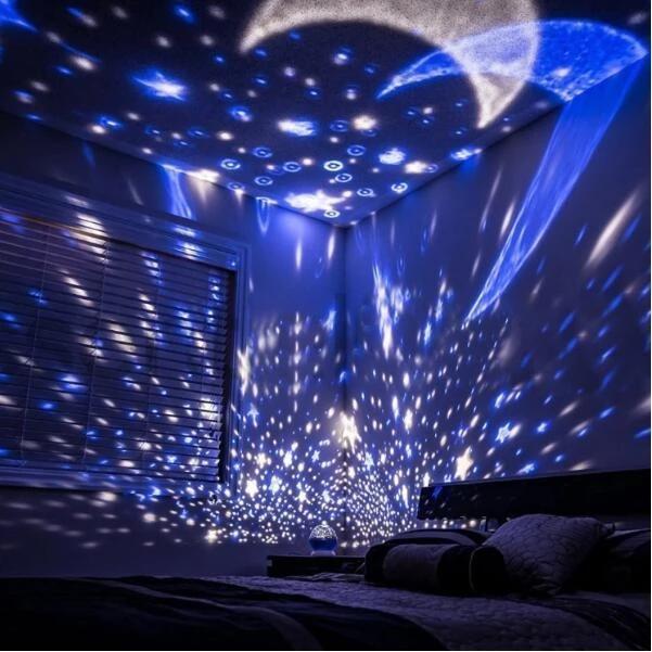 Starry Sky Night Light Projector
