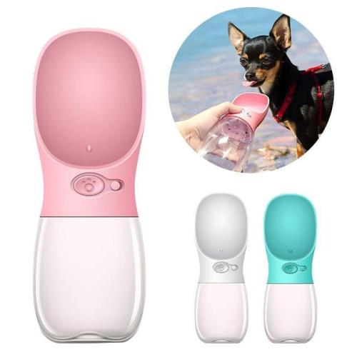 Portable Pet Water Bottle Bowl For Dog Cat