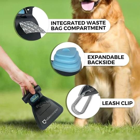 Dog Pet Travel Foldable Pooper Scooper