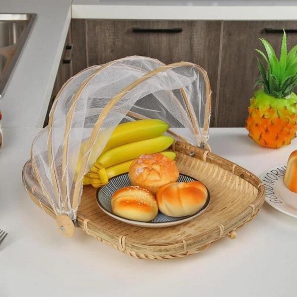 Hand-Woven Food Serving Basket