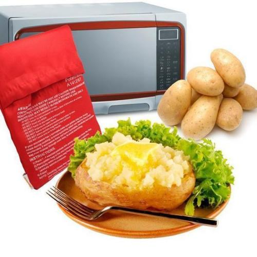 Potato Express Microwave Oven Baked Potato Bag