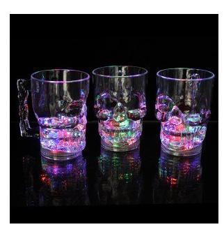Led magic wine glass