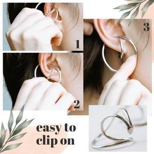 Hooping Ear Cuff